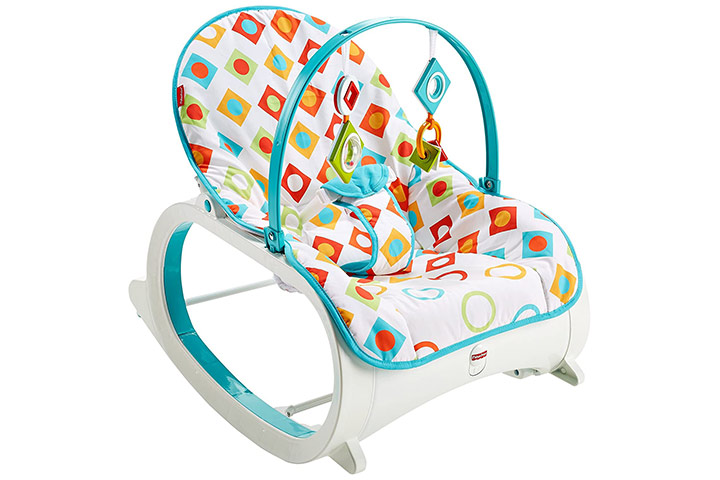 Fisher-Price Original Infant To Toddler Baby Rocker