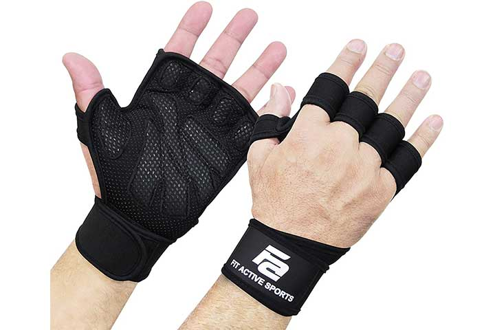 Fit Active Sports New Ventilated Weight Lifting Gloves