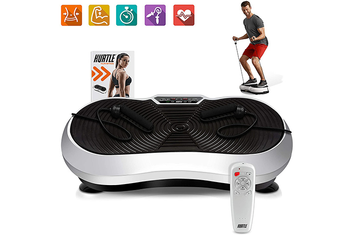 Fitness Vibration Platform Workout Machine by Hurtle