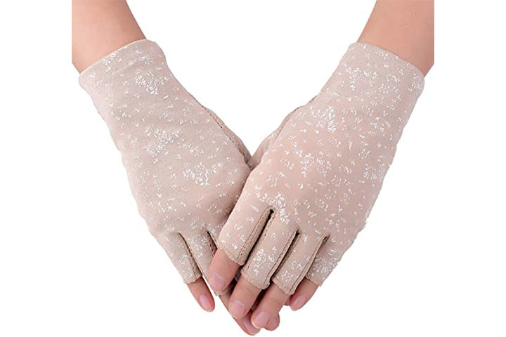 Flammi Sun Protection Hand Gloves For Women