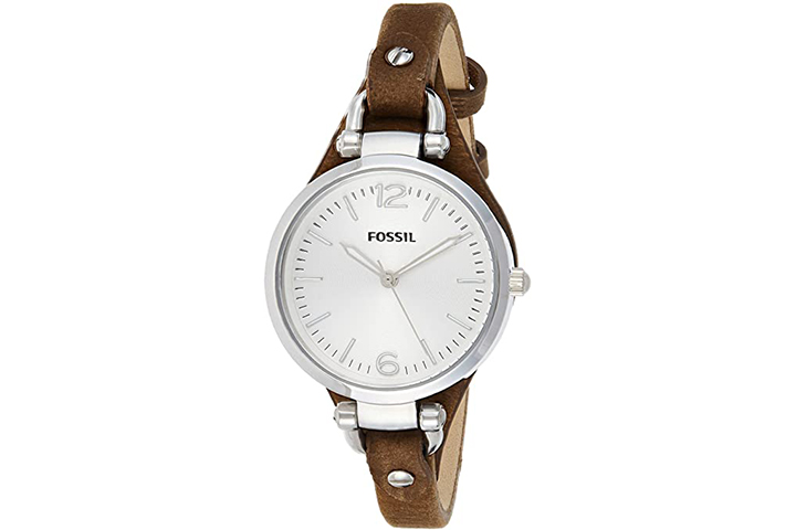 Fossil Women's Georgia Quartz Stainless Steel