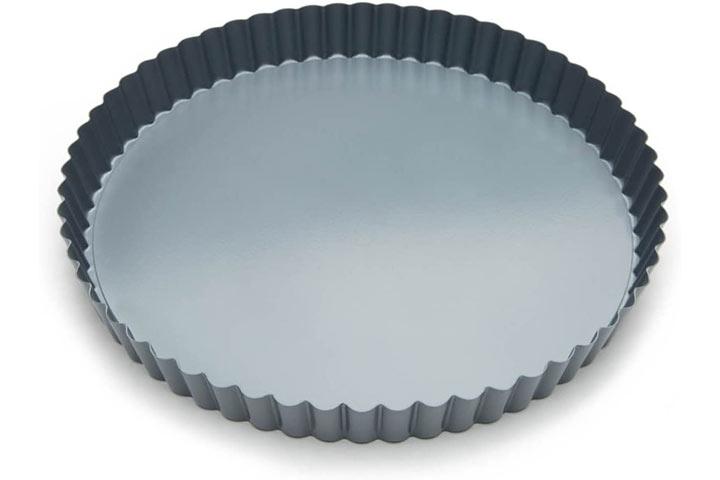 Fox Run 44513 Removable Bottom Non-Stick Tart And Quiche Pan