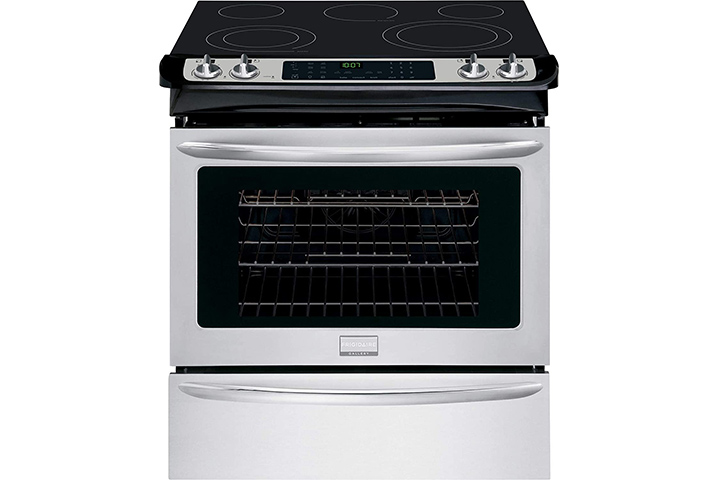 """Frigidaire FGES3065PF Gallery 30"""" Stainless Steel Electric Slide-In"""