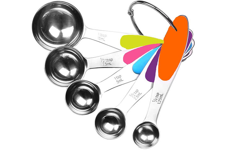 Fsdifly-Stainless Steel Measuring Spoons