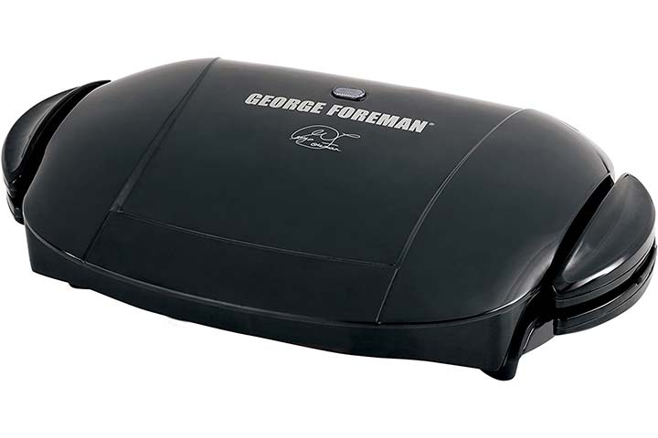 George Foreman 5-Serving Electric Indoor Grill And Panini Press