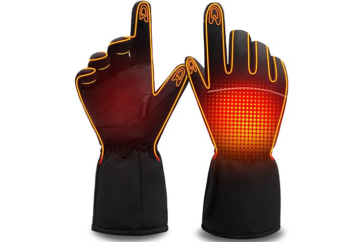HEAT WARMER Men Women Heated Gloves