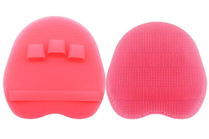 HOMMIESAFE Silicone Body Scrubber