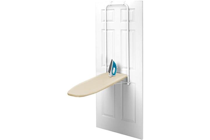 HOMZ Over-the-Door Steel Top Ironing Board