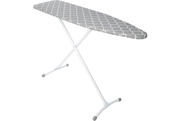 HOMZ Steel Ironing Board Contour Grey & White Cover