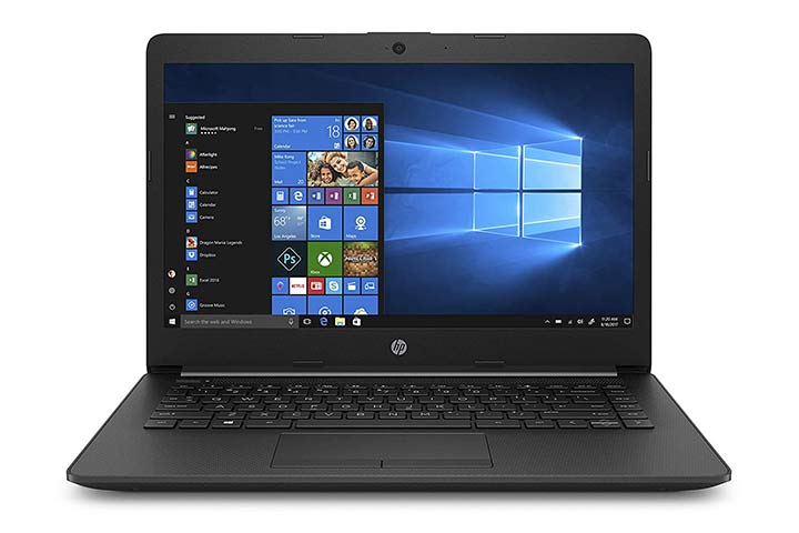 HP 15 laptop, Jet Black