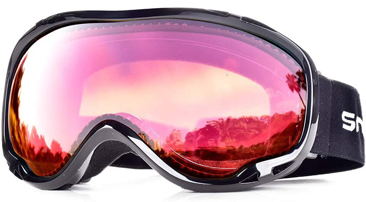 HUBO SPORTS Snowledge Anti-Fog Ski Goggles