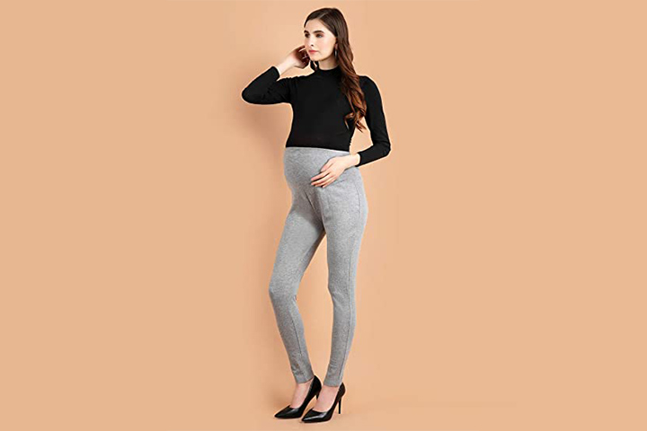 Heart Fashion Maternity Organic Cotton Leggings