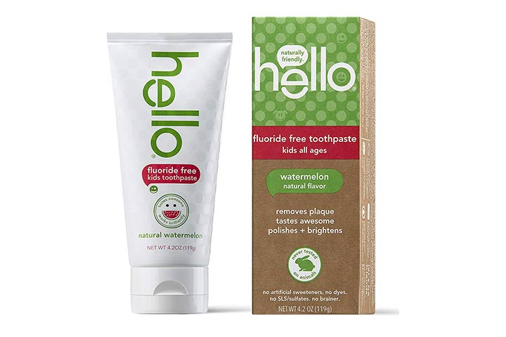Hello Oral Care Fluoride-Free Toothpaste