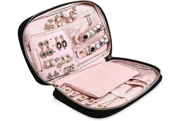 HerFav Travel Jewelry Organizer