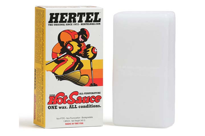 Hertel Super Hot Sauce Ski Wax