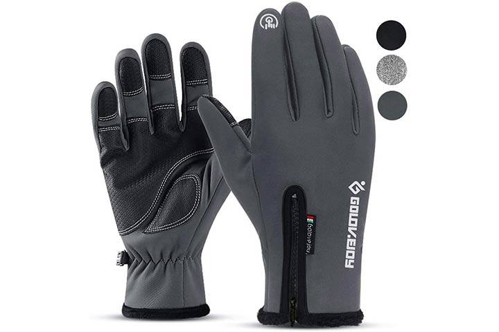 Hi Clasmix Winter Gloves for Men Women