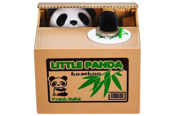HmiL-U Panda Stealing Money Bank