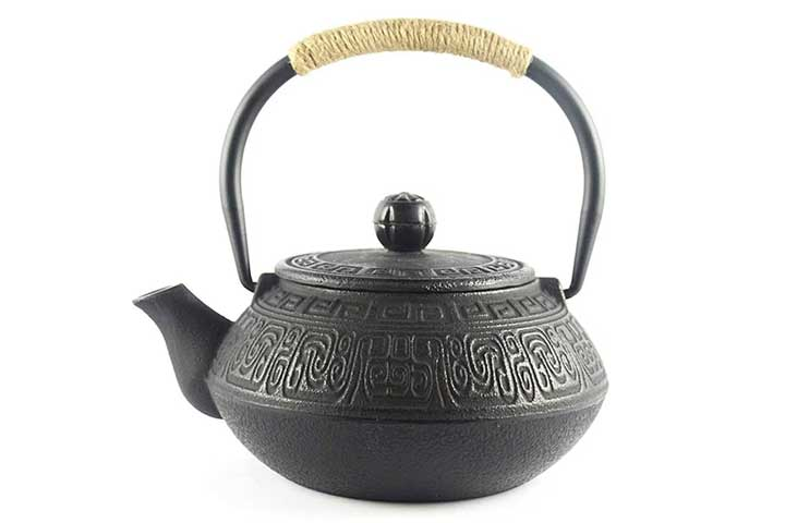 HwaGui Japanese Style Cast Iron Teapot With Infuser