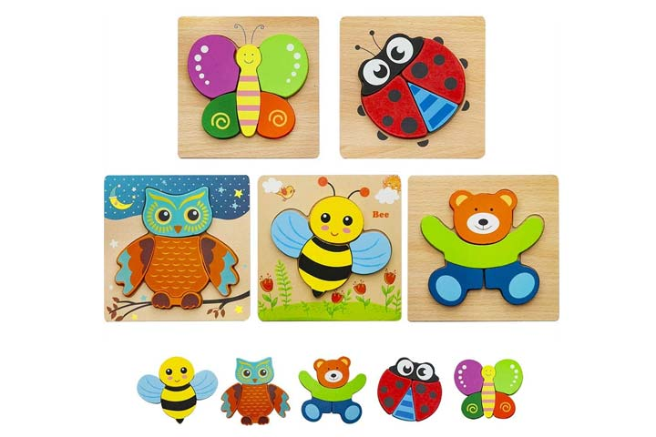 Hzone Wooden Jigsaw Puzzles