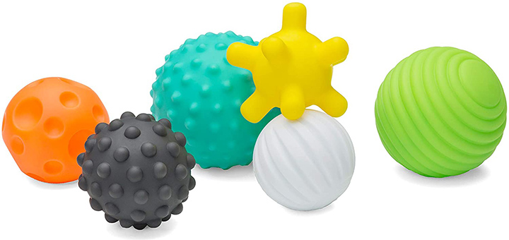 Infantino Textured Multi- Ball Set