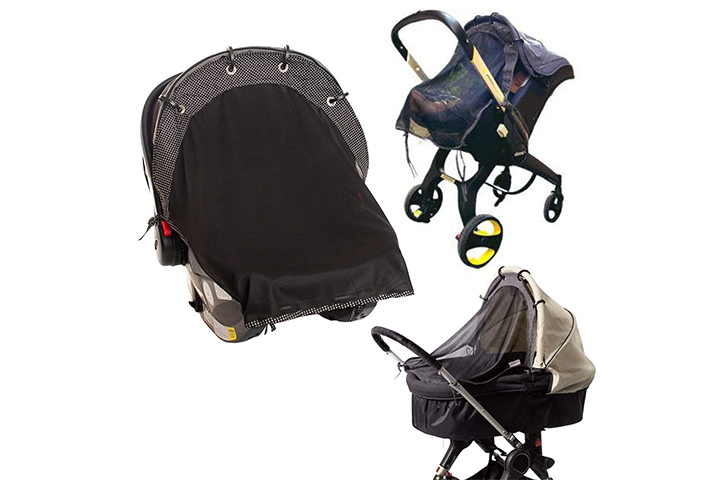 IntiMom Sunshade for Infant Car Seats and Strollers