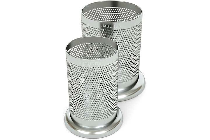 Jagurds Stainless Steel Kitchen Utensil Holder