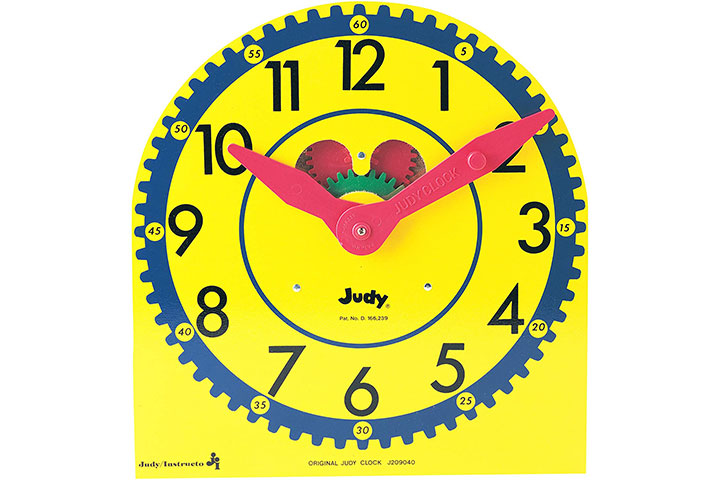Judy Instructo Teaching Clock