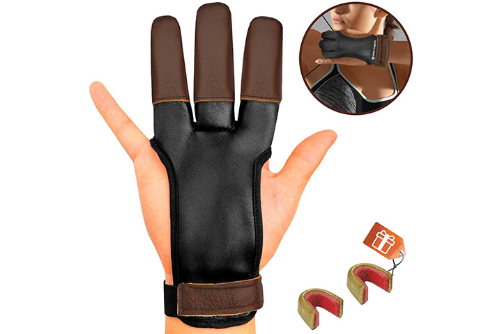 KESHES Archery Glove for Recurve & Compound Bow