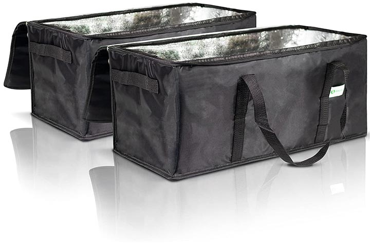 Kibaga Commercial Insulated Food Delivery Bags