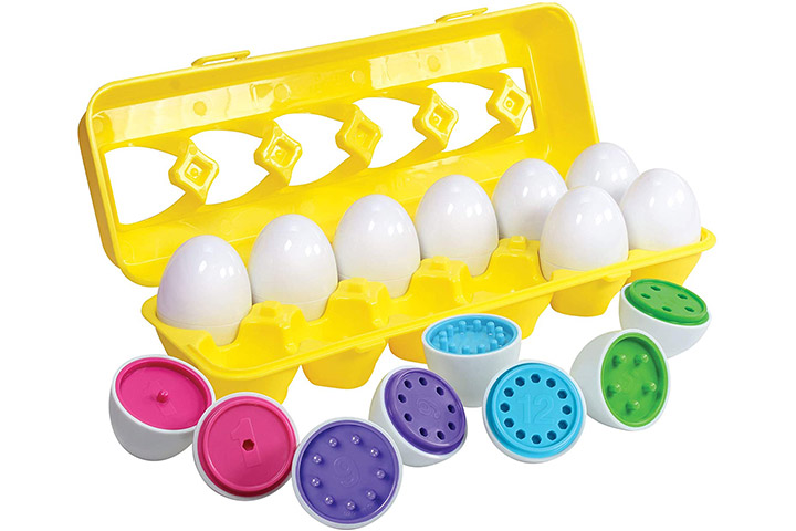 Kidzlane Count & Match Educational Egg Toy