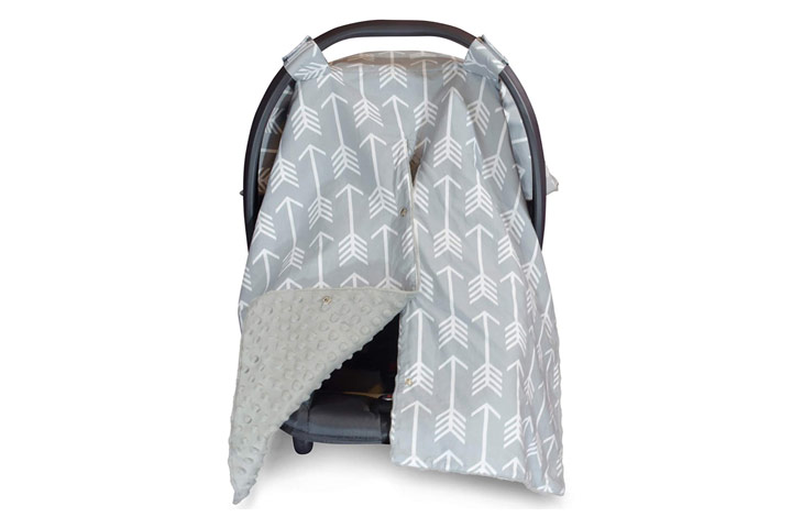 Large Infant Car Seat Canopy by Kids N' Such
