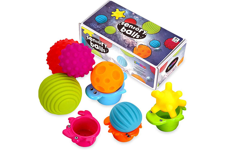 Lemostaar Textured Sensory Ball Set