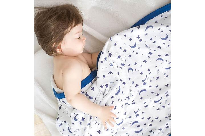 Little Jump Oversized Toddler Blanket