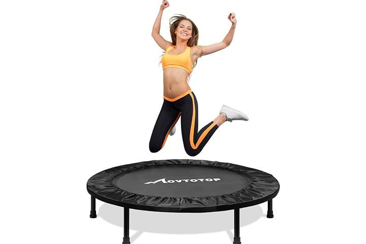 MOVTOTOP Fitness Trampoline - Black
