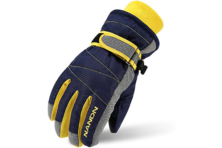 Magarrow Kids Winter Warm Windproof Outdoor Sports Gloves