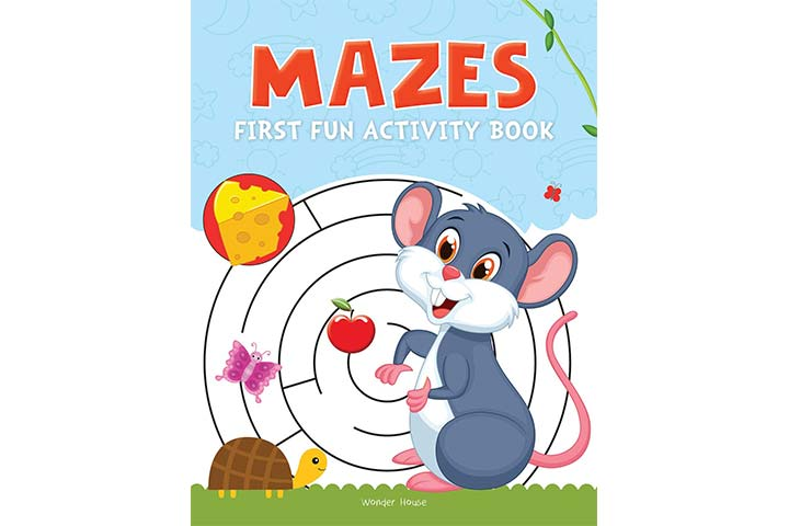 Majes First Fun Activity Books for Kids