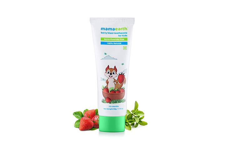 Mamaearth 100% Natural Berry Blast Toothpaste