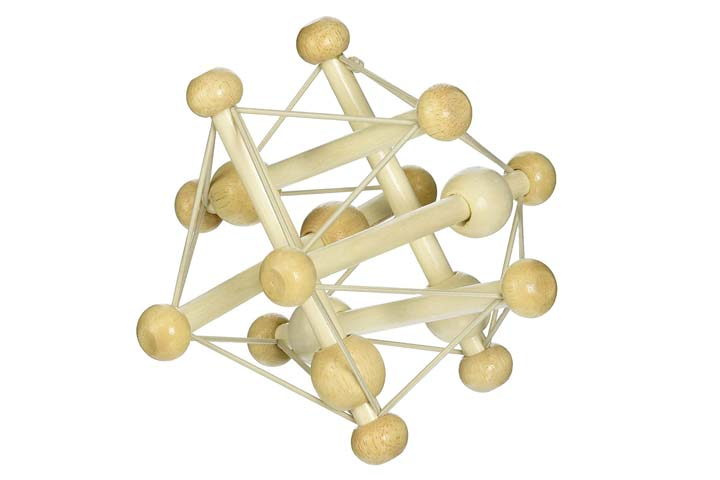Manhattan Toy Skwish Natural Rattle Toy