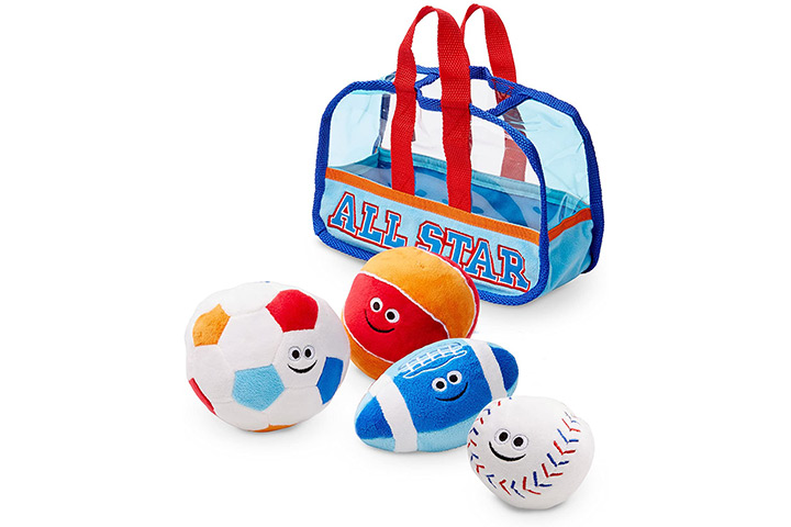 Melissa And Doug Sports Bag With Balls