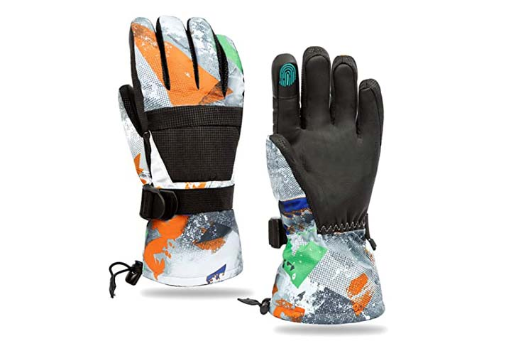 Minsky Winter Ski Snowboard Gloves Waterproof