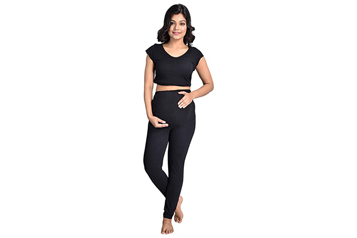 Mommy cuddle skinny fit maternity leggings