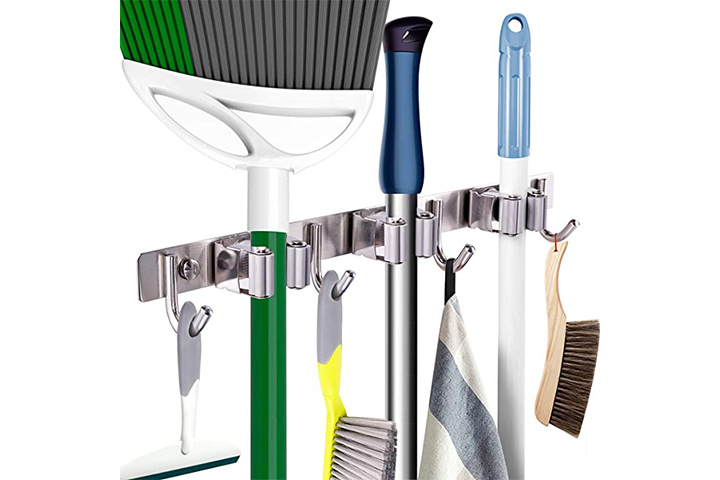 Mop Broom Holder Heavy Duty