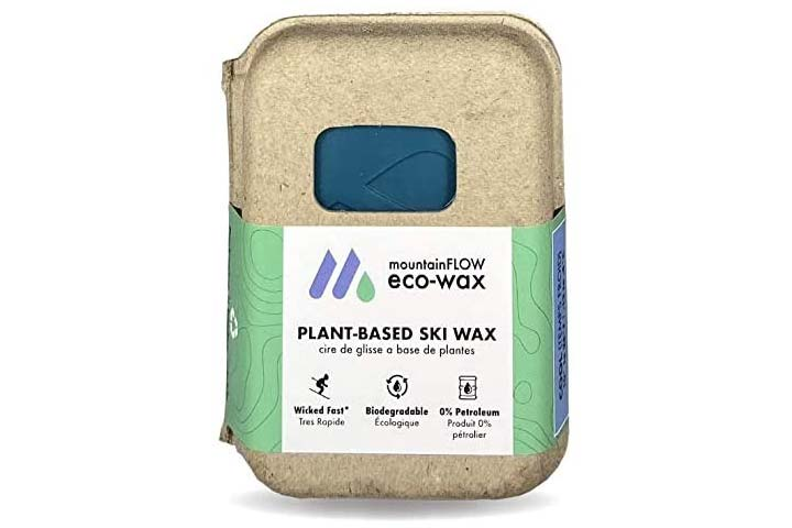 MountainFlow Plant-Based Ski Wax