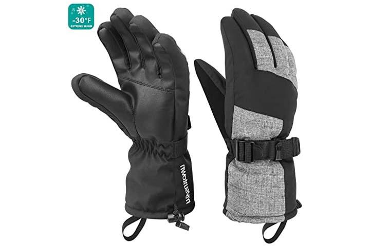 Mysuntown Ski Gloves Winter Gloves for Men and Women