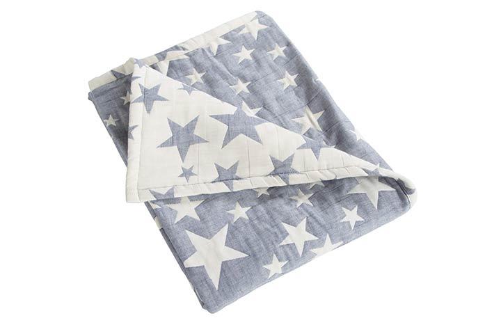 NTBAY Toddler Cotton Blanket