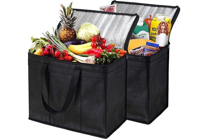 NZ Home XL Insulated Shopping Bags