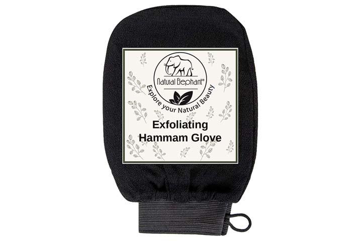 Natural Elephant Exfoliating Hammam Glove