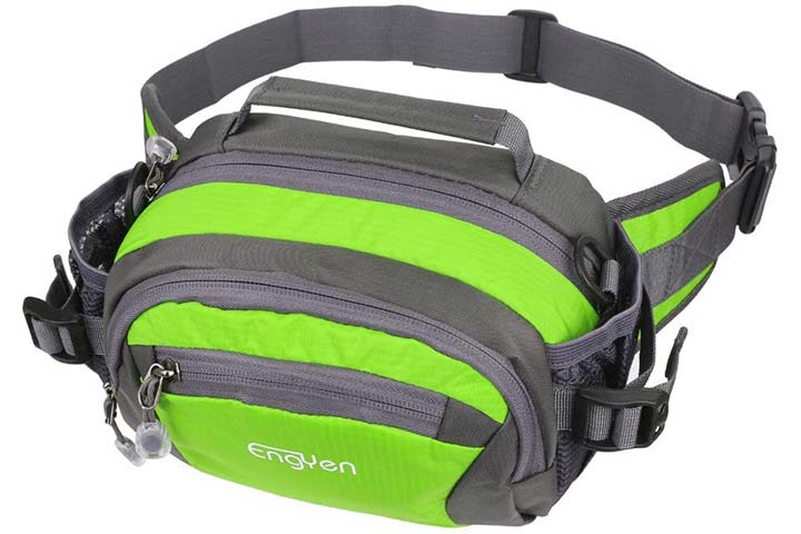 Oxpecker Waist Pack Bag with Rain Cover