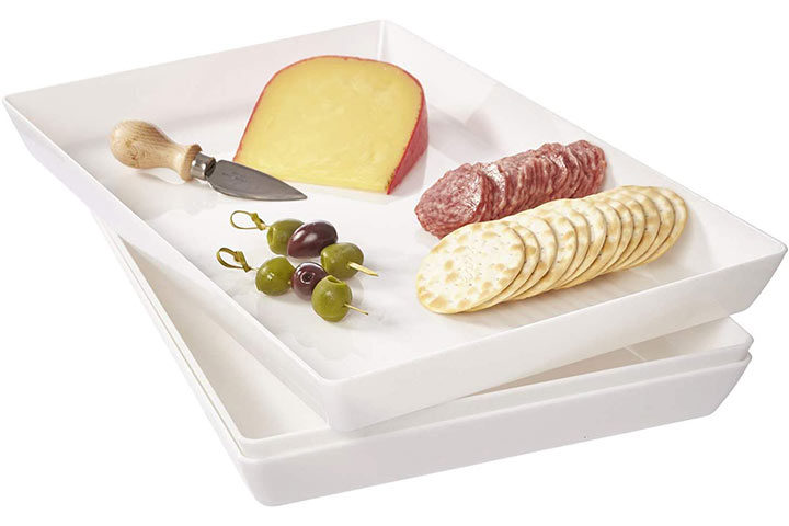 Plastic Serving Tray by US Acrylic
