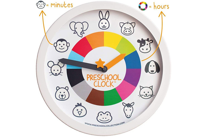 Preschool Collection Preschool Clock